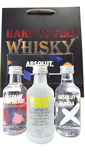 Absolut 3 x Flavoured Miniatures Gift Set ...