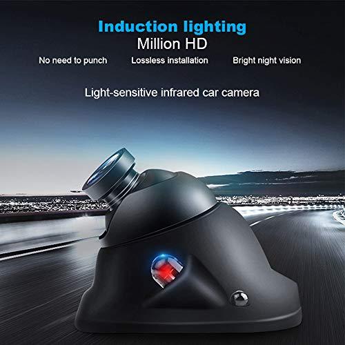 AITOO Telecamera Posteriore Per Auto - Macchina Fotografica Impermeabile Anteriore/Laterale Vista Posteriore Inversione Sensore Ccd Visione Notturna a Infrarossi 12v Hd