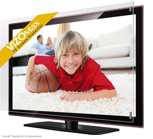 50' Vizomax protezione schermo per televisione LCD LED Plasma HDTV Screen Protector Cover Guard...
