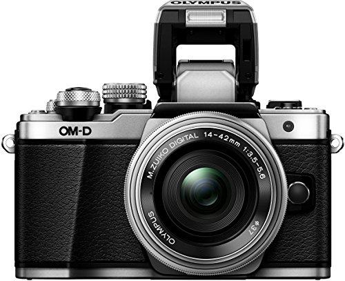 Olympus E-M10 Mark II Digital - Cámara de fotos con Kit de lentes M.Zuiko 14- 42 mm 1: 3.55.6 R II, Plata