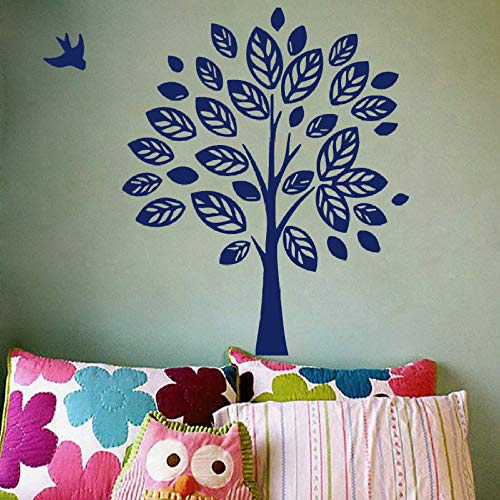 GJQFJBS Albero Uccello Wall Sticker Art Decal Rimovibile Soggiorno Nursery Camera da letto Home...