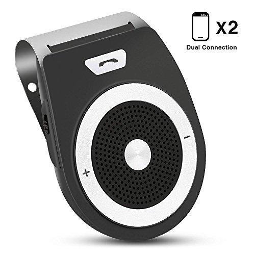 Kit vivavoce per auto Bluetooth, PullPritt 4.1 da usare senza mani Car Bluetooth per Speaker...