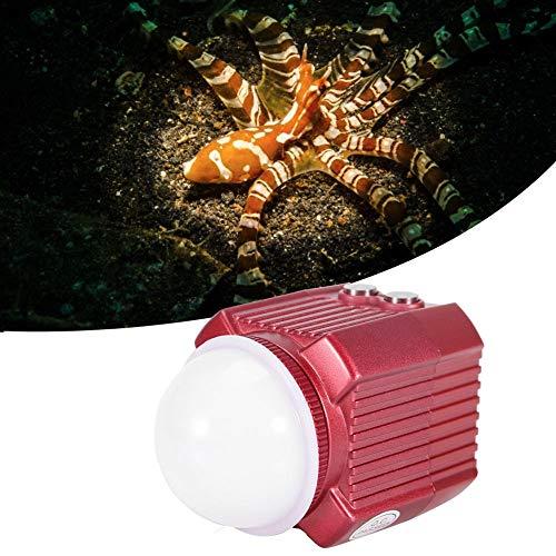 koulate Flash per Fotocamera, Mini luci subacquee subacquee con Illuminazione a LED con Funzione...