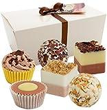 Brubaker Cosmetics-Bolas de Baño, 6piezas-caja de regalo 'chocolate Love'-Vegano