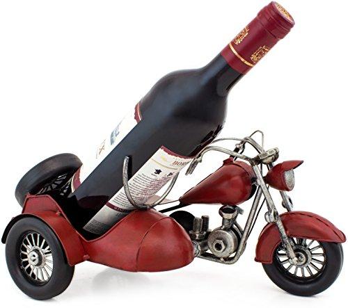 BRUBAKER Porte Bouteille De Vin Moto Side Car Style