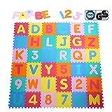 Yorbay Alfombra puzzle para Niños bebe infantil,...