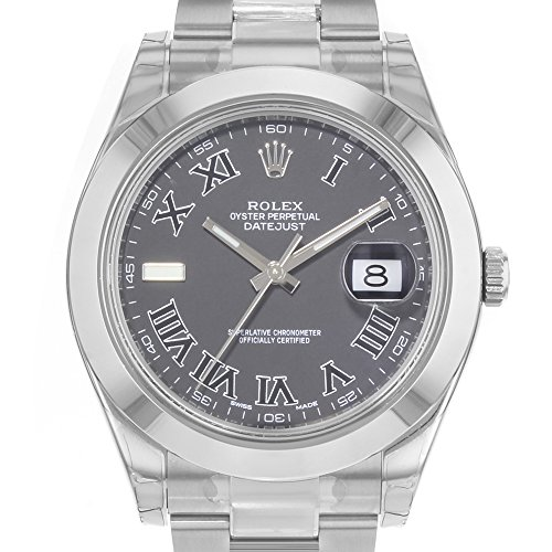 ROLEX DATEJUST II MEN'S STAINLESS STEEL CASE AUTOMATIC DATE UHR 116300 - 2