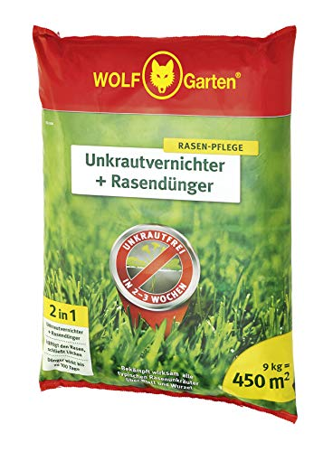 WOLF-Garten - 2-in-1: Unkrautvernichter plus Rasendünger SQ 450; 3840745