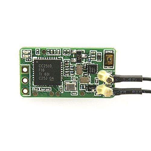 LITEBEE Frsky Ricevitore XM Plus Ricevente, Frsky Taranis Gamma Completa Micro Receiver Failsafe D16...