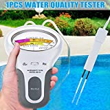 Suneway Tragbar Digital Monitor Ph Wasser Tester Messer Analysis Chlor Enthaltenes Schwimmbad Test Set