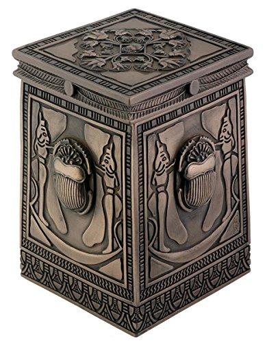 Cajita de bronce egipcio coleccionable