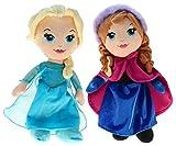 Disney 201790Peluche Disney Frozen Elsa & Anna, 30cm