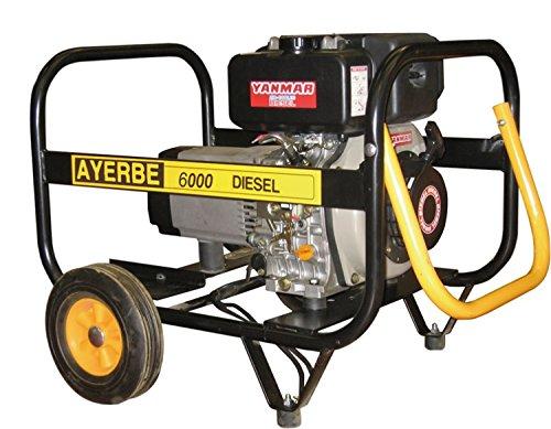 Ayerbe generadores diesel - Generador ay-6500tx arranque manual diesel