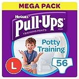 Huggies Pull-Ups Potty Training Pants for Boys, Large (56 Pants)