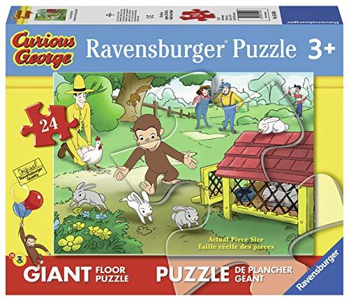Ravensburger George (Formato Differente) - Puzzle 24 Pezzi