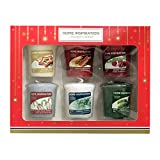 Set regalo Yankee Candle ufficiale, gamma: Home Inspiration, fragranze natalizie
