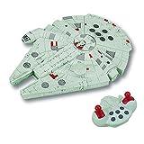 Giochi Preziosi Disney Star Wars Astronave con Radiocomando Millennium Falcom, Lunghezza 28 cm