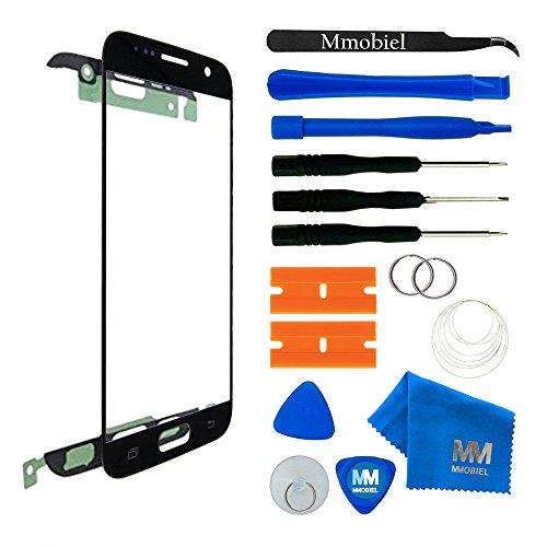 MMOBIEL Kit de Reemplazo de Pantalla Táctil Compatible con Samsung Galaxy S7 G930 Series (Negro) Incluye Herramientas