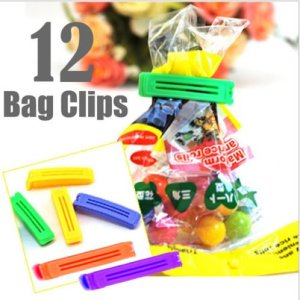 Generic Plastic Food Snack Bag Pouch Clip Sealer, Multicolour 9  Generic Plastic Food Snack Bag Pouch Clip Sealer, Multicolour 512qhDQTnFL