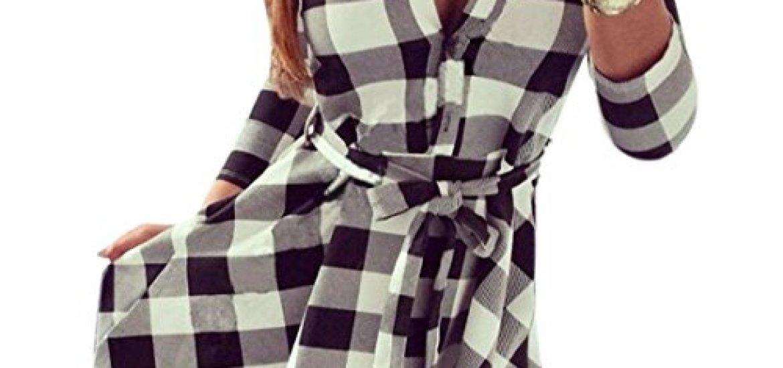 43cd6661a9 Los mejores 10 Vestido De Cuadros - Guía de compra