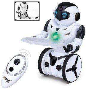 512rFk 1PqL - Top Race Control remoto RC Robot de juguete, Robot de equilibrio inteligente, 5 modos de funcionamiento, Baile, Boxeo, Conducción, Carga, Gesto. Transmisor de 2,4 GHz. TR-P3