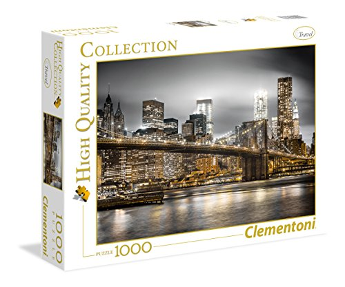 Clementoni - 39366 - High Quality Collection Puzzle - New York Skyline - 1000 Pezzi