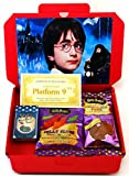 Harry Potter Sweets Hamper | Inspired By The Legendary Movies | Letterbox Friendly Glossy Red Box | Bertie Bott's Beans, Chocolate Frog & Slugs | Christmas Present | Hamper exclusive to CANDYPLANET