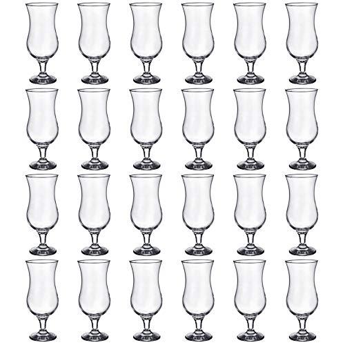 Rink Drink, Bicchieri da Pina Colada/Cocktail, da 460 ml - Confezione per Le Feste da 24