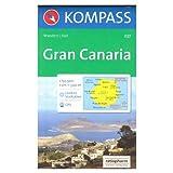 Gran Canaria 1:50.000 mapa senderismo KOMPASS # 237
