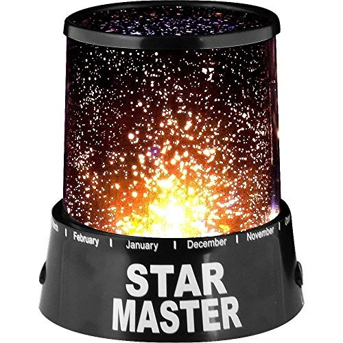 N M Z Amazing Colorful LED Star Master Sky Starry Night Light Projector Lamp Gift