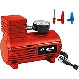 Einhell - Compresor para coche, tensión 12V CA-CC, presión 18Bar, rojo