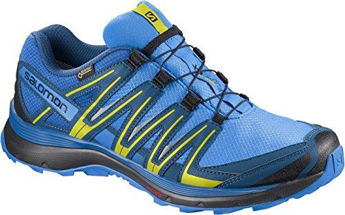 Salomon XA Lite GTX, Zapatillas de Running para Hombre, Azul (Indigo Bunting/Snorkel Blue/Sulphur), 41 1/3 EU