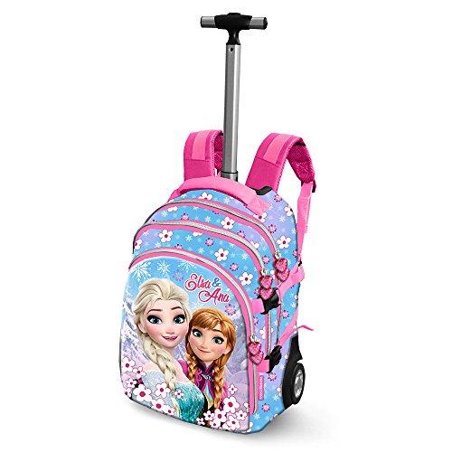 Die Eiskönigin (Frozen) Floret-Travel Trolley-Rucksack Zaino Casual, 28 liters, Blu