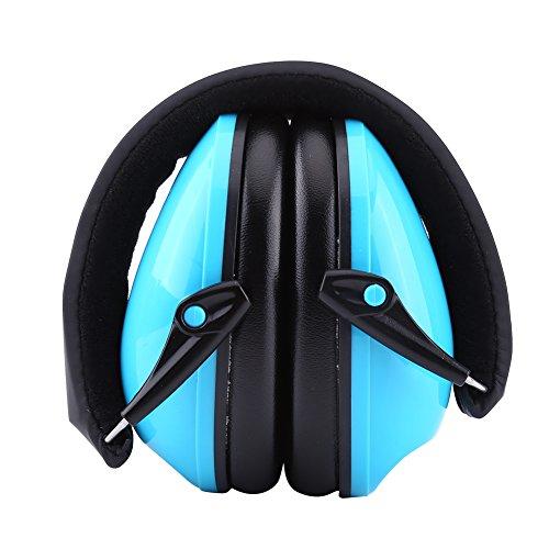 Orejeras de Protección Protectores Auditivos Protectores de Orejas Protección de Oídos para Niños(Azul)