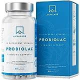 Probiótico [30 Mil Millones de UFC] - Fórmula de Amplio Espectro - 15 Cepas - Lactobacilos y Bífidobacterias - Mejora del Sistema Inmunológico - 60 Cápsulas de Liberación Prolongada- 100% Vegano