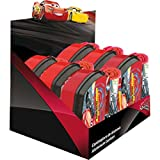 Kids Euroswan Set con Sandwichera y Toalla de 30 x 40 cm, Estampado Cars 3, Multicolor, 15x10x5 cm