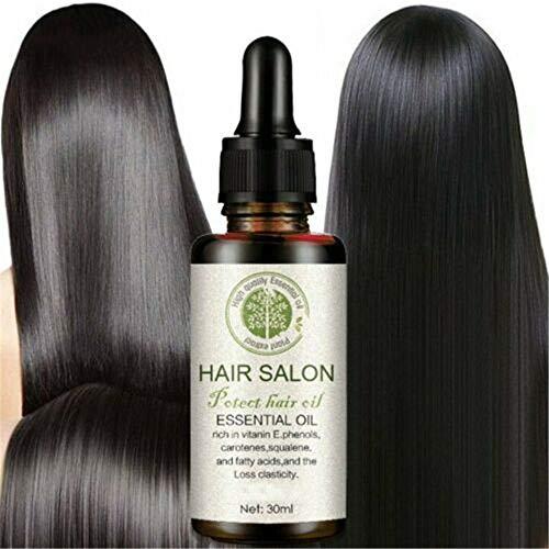 hmkazm Hair Regrowth Serum Hair Salon, Haarwachstumsspray, Anti-Haarausfall, Förderung des Haarwachstums, Haar-Serum Stärkt die Haarwurzeln, Haarausfall-Behandlung für Männer und Frauen
