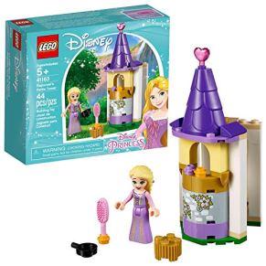 LEGO Disney Princess - Pequeña Torre de Rapunzel, castillo de princesas creativo de construcción (41163)