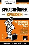 Sprachführer Deutsch-Spanisch und Mini-Wörterbuch mit 250 Wörtern