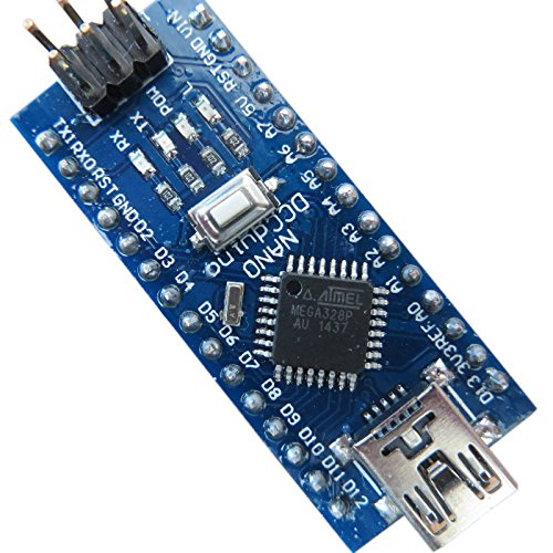513dXM90IYL - Tenflyer Nano 3.0 Controller Compatible con Arduino Nano CH340 controlador USB con el cable NANO V3.0 ATMEGA328P XTWduino