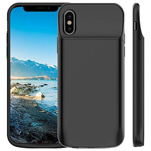 JT JLW Portable External Battery Pack with Sync and Lightning Charging Port for Apple iPhone X 5.8 Inch (Black)
