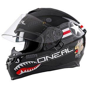 O'Neal Challenger Wingman Street Integral Helm Motorrad Magnetverschluss Fidlock Sonnenblende, 0805-2 2