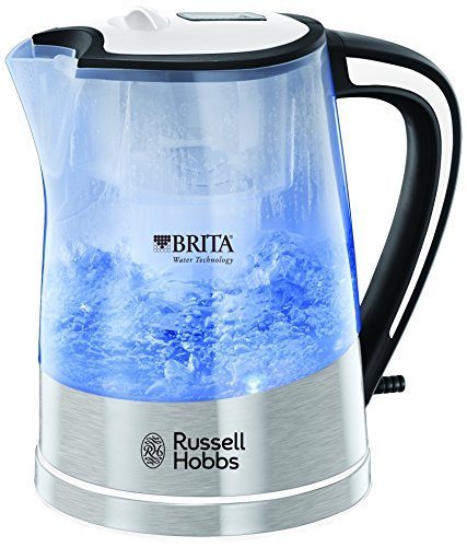 Russell Hobbs Purity 1L water filter kettle (transparent) (3000w)