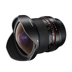 Walimex Pro - Objetivo ojo de pez para Canon EF (DSLR, 1:2,8, con montura de bayoneta), negro