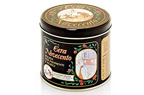 Cera Novecento Y934 Cera Solida, Noce Scuro, 500 ml