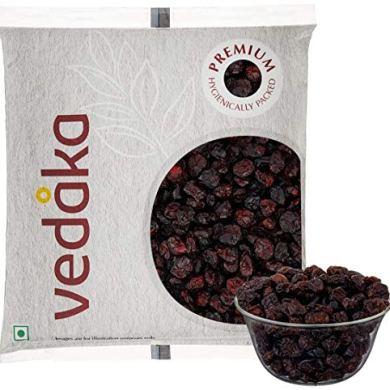 Vedaka Premium Whole Dried Cranberries, 500g 8