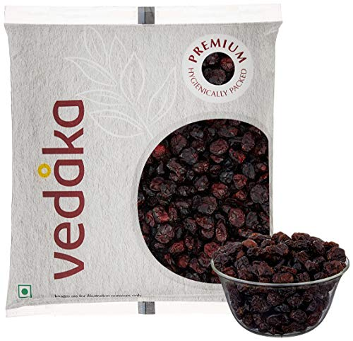 Vedaka Premium Whole Dried Cranberries, 500g