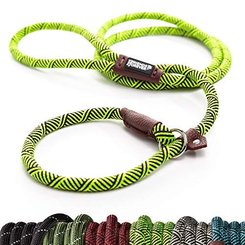 Unbekannt Hundeleine/Hundeleine, extrem strapazierfähig, hochwertig, für Bergsteiger, robust, für große und mittelgroße Haustiere, 1,8 m, Grün