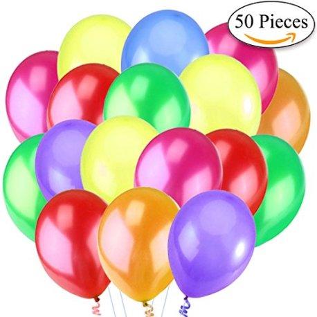 Jonami-50-Premium-Ballons-dAnniversaire-Gonflables-30cm-Ballons-de-Baudruche-Perl-Nacr-Multicolores-Jaune-Orange-Vert-Bleu-Rouge-Rose-Violet-32-g-Dcorations-et-Accessoires-pour-Anniversaire