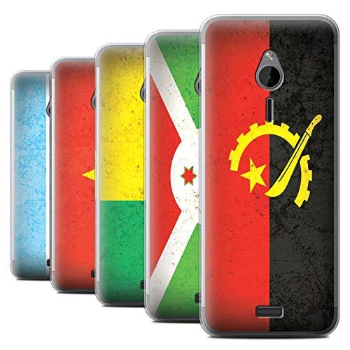 eSwish Coque Gel TPU de Coque pour Nokia 230 / Pack 21pcs / Drapeau Africain 22
